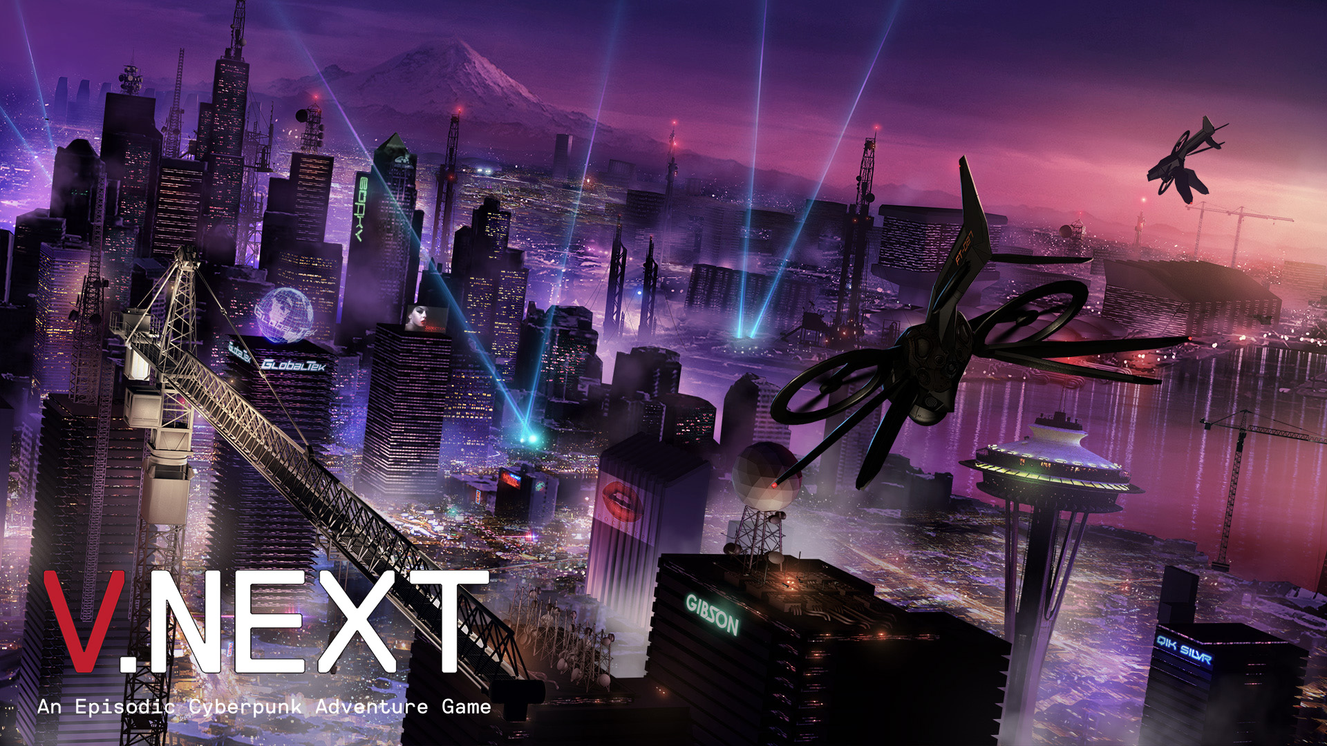 VNext An Episodic Cyberpunk Adventure